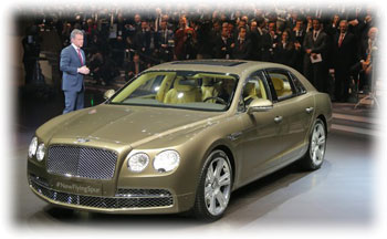 Bentley Flying Spur фото